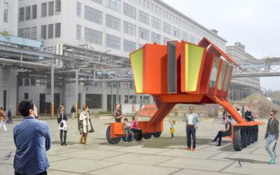 KAPKAR / GC-MV1 | Mobile Work Pavilion