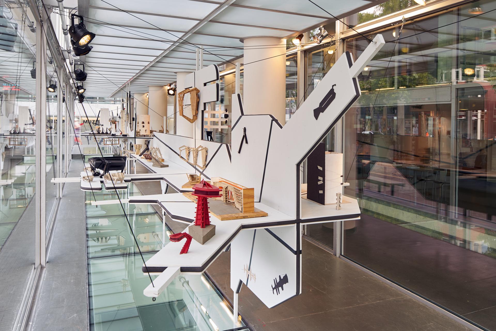 KAPKARTOFUD # Noordvitrine | Model Exhibition