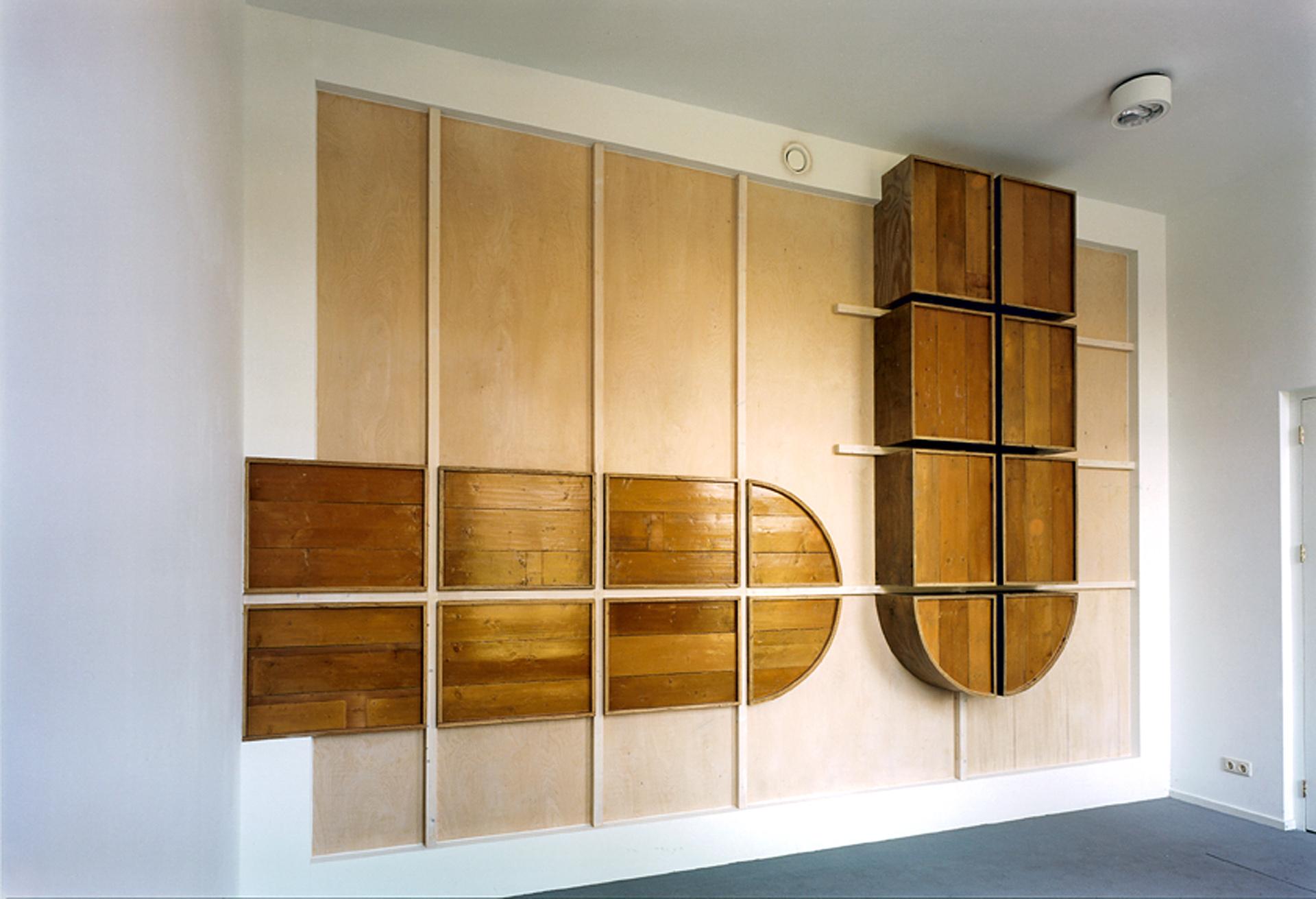 Reception Wall / Post Room