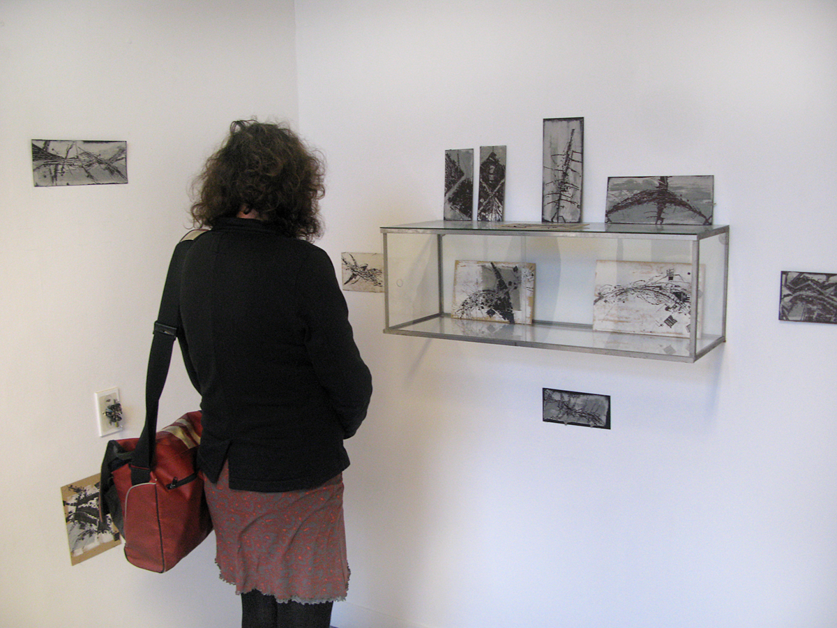 Frank drawings at Amsterdam Drawing 2015 Cityscapes Gallery