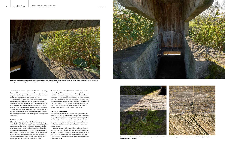 De Architect no1 2021 Astrid Aarsen interview Studio Frank Havermans