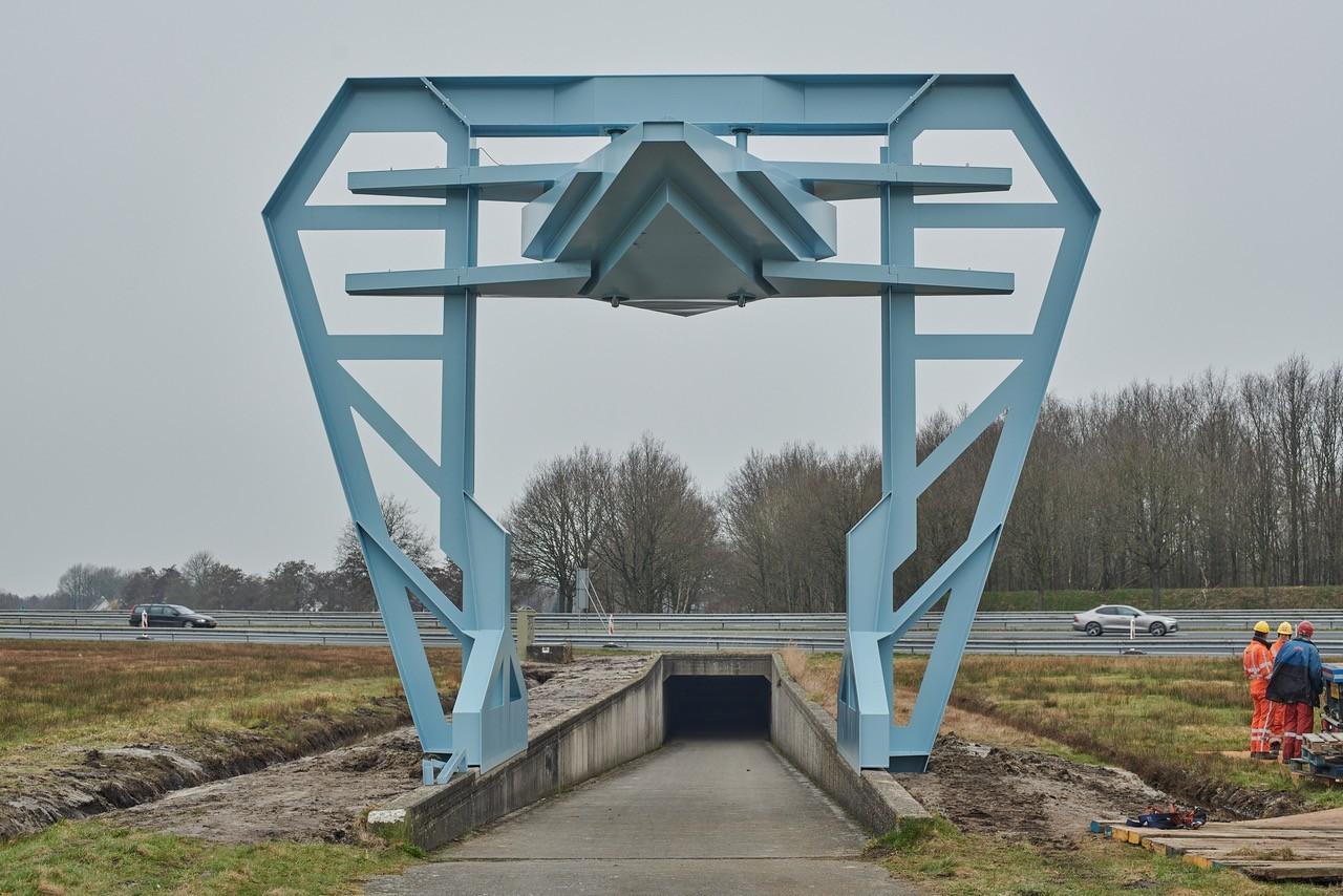 KAPKAR / A7-29 X FT (2021) van Frank Havermans. In opdracht van Gemeente Smallingerland en begeleid door Stichting TAAK. Foto: Victoria Ushkanova.