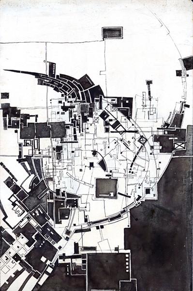 Drawing Frank Havermans 1994