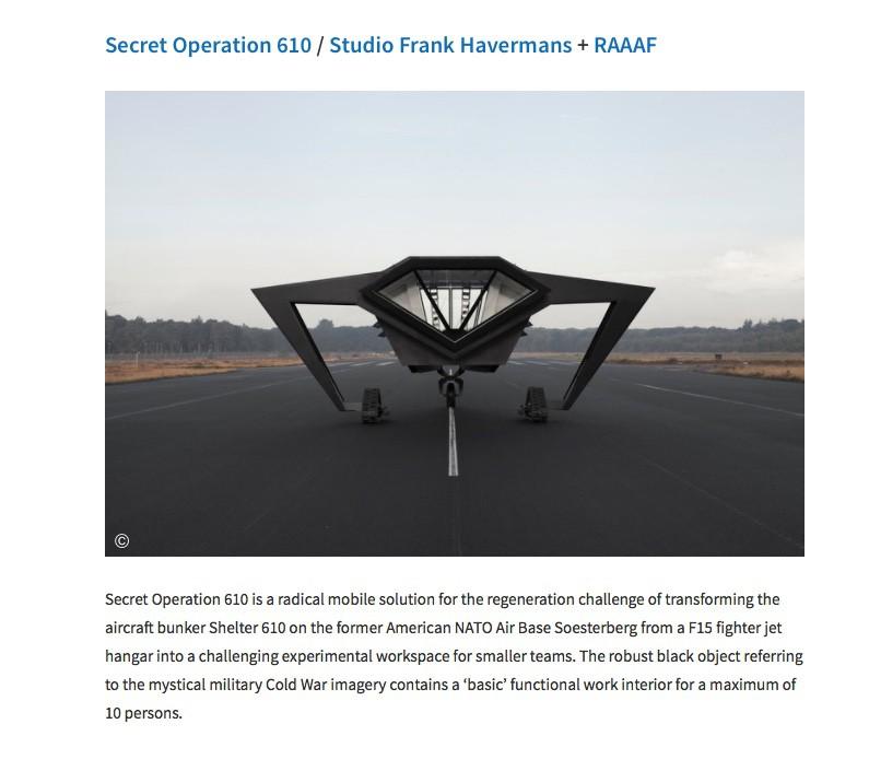 Secret Operation 610_Studio Frank Havermans + RAAAF_ © photo Michiel De Cleene