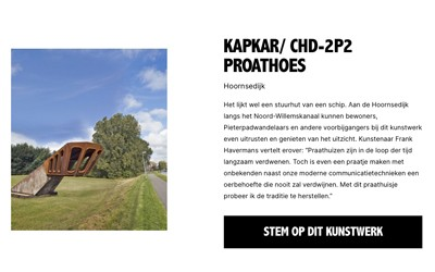 Nominatie Straatprijs Groningen