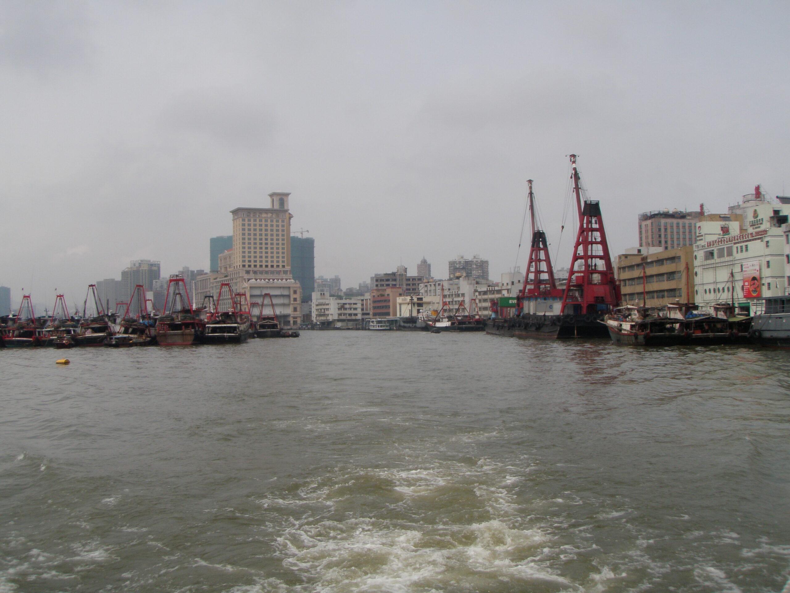 Inner_Harbour Macau, photo Keiziro, 2009